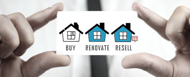 drawing-of-three-houses-where-it-reads-buy-renovate-resell